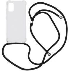 iMoshion Backcover met koord Samsung Galaxy A41 - Zwart