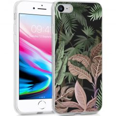 iMoshion Design hoesje iPhone SE (2020) / 8 / 7 / 6s - Jungle - Groen