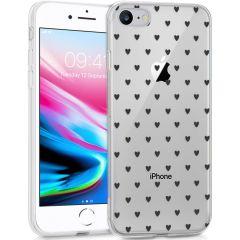 iMoshion Design hoesje iPhone SE (2020) / 8 / 7 / 6s - Hartjes