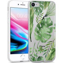 iMoshion Design hoesje iPhone SE (2020) / 8 / 7 / 6s - Bladeren