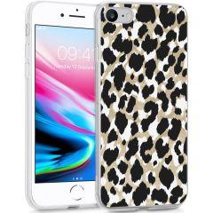 iMoshion Design hoesje iPhone SE (2020) / 8 / 7 / 6s - Luipaard