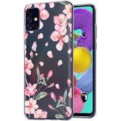 iMoshion Design hoesje Samsung Galaxy A51 - Bloem - Roze
