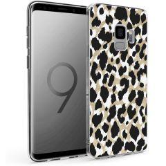 iMoshion Design hoesje Samsung Galaxy S9 - Luipaard - Goud / Zwart