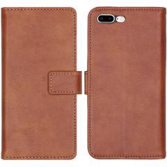 iMoshion Luxe Booktype iPhone 8 Plus / 7 Plus - Bruin