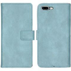 iMoshion Luxe Booktype iPhone 8 Plus / 7 Plus - Lichtblauw