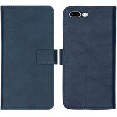 iMoshion Luxe Booktype iPhone 8 Plus / 7 Plus - Donkerblauw