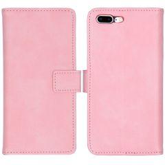 iMoshion Luxe Booktype iPhone 8 Plus / 7 Plus - Roze