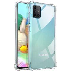 iMoshion Shockproof Case Samsung Galaxy A71 - Transparant