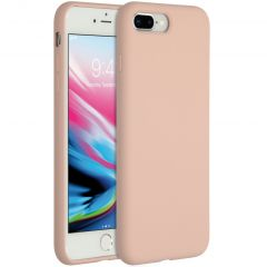 Accezz Liquid Silicone Backcover iPhone 8 Plus / 7 Plus - Pink Sand