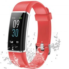 Lintelek Connected Activity tracker - Rood
