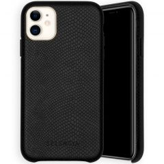 Selencia Gaia Slang Backcover iPhone 11 - Zwart