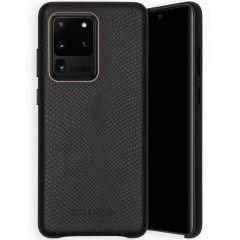 Selencia Gaia Slang Backcover Samsung Galaxy S20 Ultra - Zwart