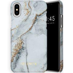 Selencia Maya Fashion Backcover iPhone Xs / X - Marble Stone