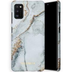 Selencia Maya Fashion Backcover Samsung Galaxy A41 - Marble Stone