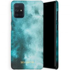 Selencia Maya Fashion Backcover Samsung Galaxy A71 - Air Blue