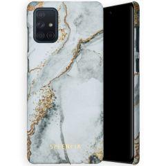 Selencia Maya Fashion Backcover Samsung Galaxy A71 - Marble Stone