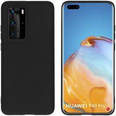 iMoshion Color Backcover Huawei P40 Pro - Zwart