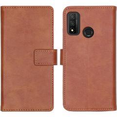 iMoshion Luxe Booktype Huawei P Smart (2020) - Bruin