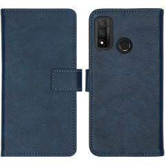 iMoshion Luxe Booktype Huawei P Smart (2020) - Donkerblauw
