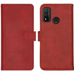 iMoshion Luxe Booktype Huawei P Smart (2020) - Rood