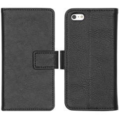 iMoshion Luxe Booktype iPhone 5 / 5s / SE - Zwart