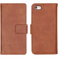 iMoshion Luxe Booktype iPhone 5 / 5s / SE - Bruin