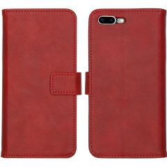 iMoshion Luxe Booktype iPhone 8 Plus / 7 Plus - Rood