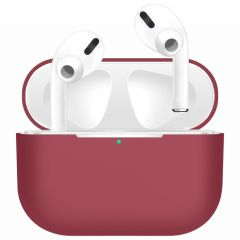 iMoshion Siliconen Case voor AirPods Pro - Donkerrood