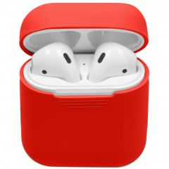 iMoshion Siliconen Case voor AirPods - Rood