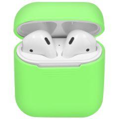 iMoshion Siliconen Case voor AirPods - Fluor Groen
