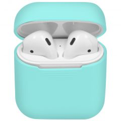 iMoshion Siliconen Case voor AirPods - Mint