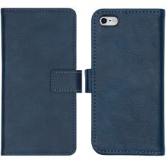 iMoshion Luxe Booktype iPhone 5 / 5s / SE - Donkerblauw