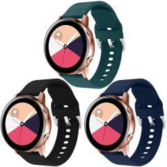 iMoshion Siliconen bandje 3pack Watch 40/42/Active 2 42/44/Watch 3 41