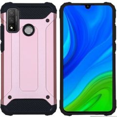 iMoshion Rugged Xtreme Backcover Huawei P Smart (2020) - Rosé Goud