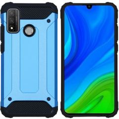 iMoshion Rugged Xtreme Backcover Huawei P Smart (2020) - Lichtblauw