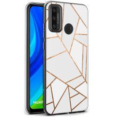 iMoshion Design hoesje Huawei P Smart (2020) - Grafisch Koper - Wit