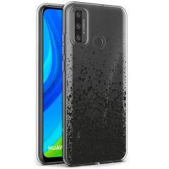 iMoshion Design hoesje Huawei P Smart (2020) - Spetters - Zwart
