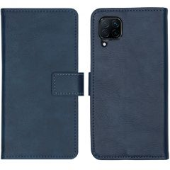 iMoshion Luxe Booktype Huawei P40 Lite - Donkerblauw