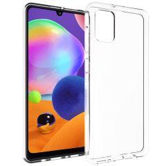 Accezz Clear Backcover Samsung Galaxy A31 - Transparant