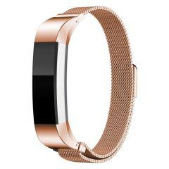 iMoshion Milanees Watch bandje Fitbit Alta (HR) - Rosé Goud