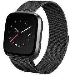 iMoshion Milanees Watch bandje Fitbit Versa 2 / Versa Lite - Zwart