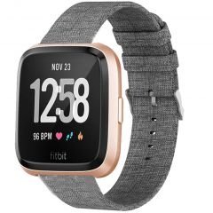 iMoshion Nylon bandje Fitbit Versa 2 / Versa Lite - Grijs