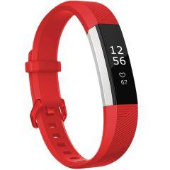 iMoshion Siliconen bandje Fitbit Alta (HR) - Rood