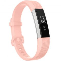 iMoshion Siliconen bandje Fitbit Alta (HR) - Roze