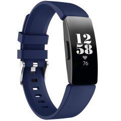 iMoshion Siliconen bandje Fitbit Inspire - Donkerblauw