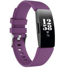 iMoshion Siliconen bandje Fitbit Inspire - Paars