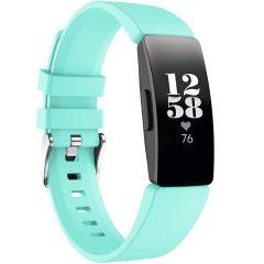iMoshion Siliconen bandje Fitbit Inspire - Turquoise