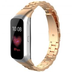 iMoshion Stalen watch bandje Samsung Galaxy Fit - Rosé Goud