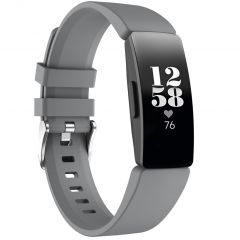 iMoshion Siliconen bandje Fitbit Inspire - Grijs