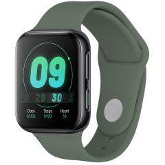 iMoshion Siliconen bandje Oppo Watch 41 mm - Groen